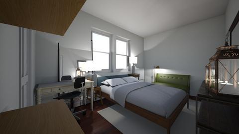 PROBASCO HOME - Bedroom - by naumankm