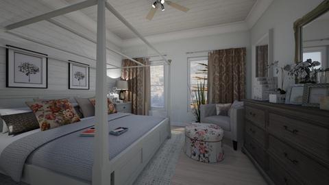 Flower deco - Bedroom - by rebsrebsmmg