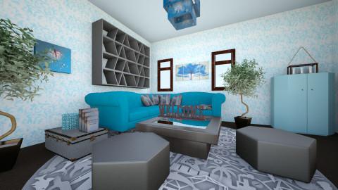 Fantasy - Living room - by Teti