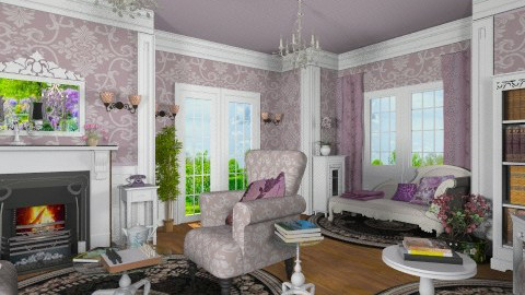 Marthas Private Boudoir  - Classic - Living room - by Bibiche