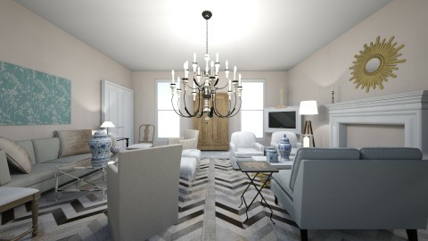 suzanne kasler - Classic - Living room - by dadearin