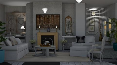 Shabby Chic Living    - Modern - Living room - by Sue Bonstra