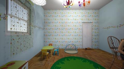 Pieza Guagua - Kids room - by GaviotaGavina