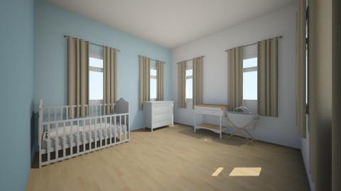 Bleu Boy Room - Kids room - by esmeepoelman