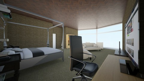 Math Project Room Design - Bedroom - by Victor7798