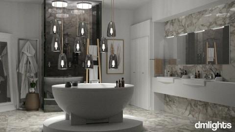 dreamy bathroom - Bathroom - by DMLights-user-991288