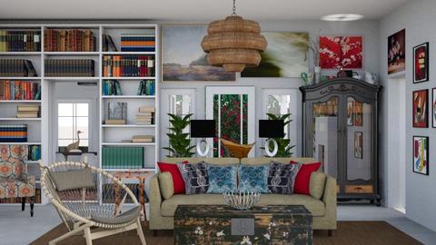 Eclectic Living Room 3 - Eclectic - Living room - by jjp513