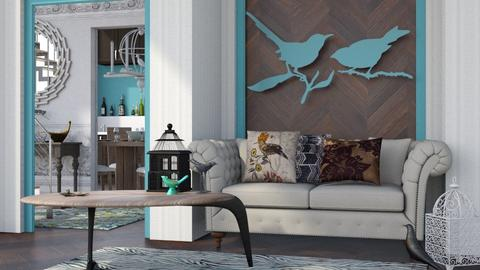 Bird - Modern - Living room - by Jessica Fox