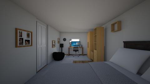 My room 2_0 - Modern - Bedroom - by mikeeXD