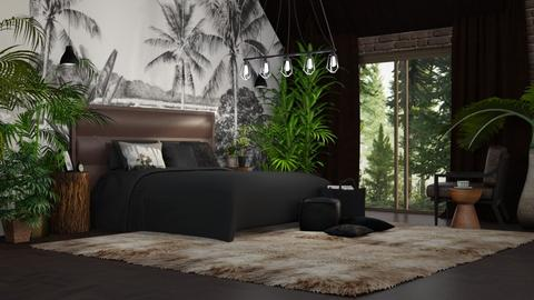 jungle - Bedroom - by anjaam