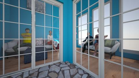 Nautical Living room - Living room - by Ohtoe