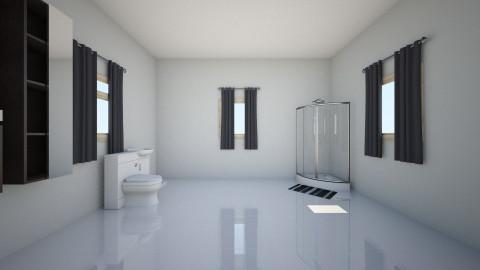 Upstairs Bathroom - Glamour - Bathroom - by mariavagi