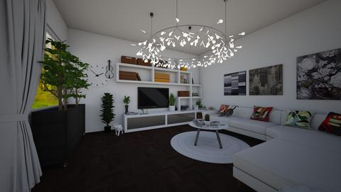 modern green Eco living - Modern - Living room - by jade1111