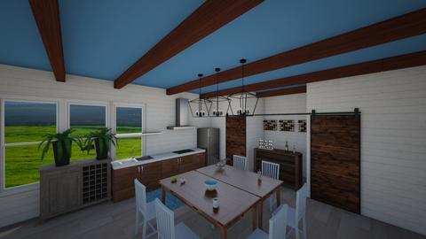 Pays_Farmhouse - Kitchen - by AlexiiisNiicole