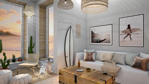 surf - Living room - by siljaj
