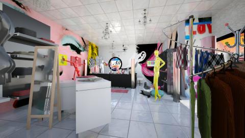 Pop art fashion co - Retro - by lauracopey
