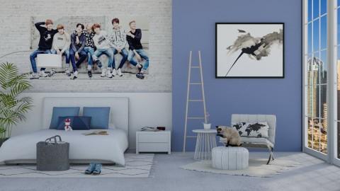 A Friends Retreat - Bedroom - by bgref