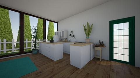 cool kitchen - Kitchen - by Gennevieve Moya