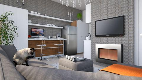 Apartment in Seoul  - Eclectic - Living room - by Theadora