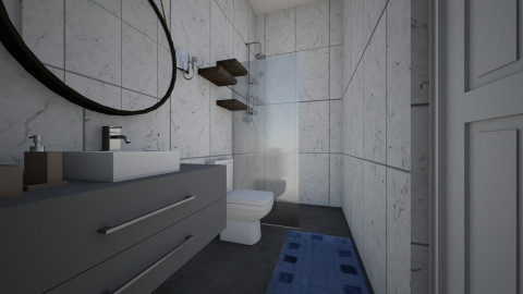 Bathroom 1 expanded - Bathroom - by chloedaniella
