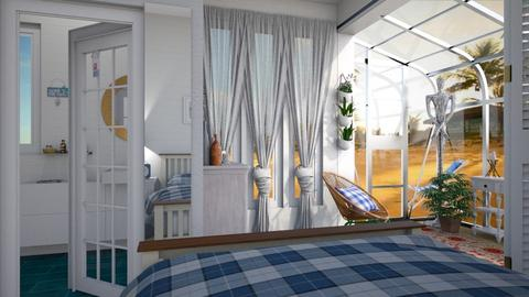 beachside - Global - Bedroom - by donella