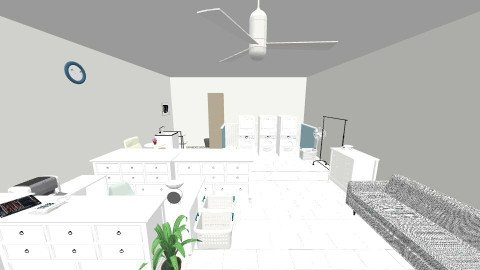 Laundry Shop - Minimal - by analee14