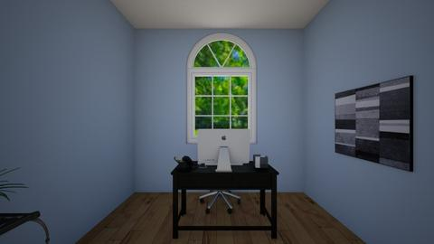 Dan Work Office  - Modern - Office - by sierraibarra