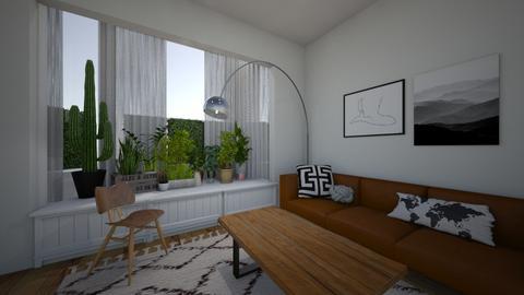 greenery - Living room - by kapetanovica23