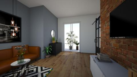 office room - Living room - by stef_eck