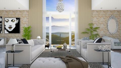 Soft Living - Glamour - Living room - by DeborahArmelin