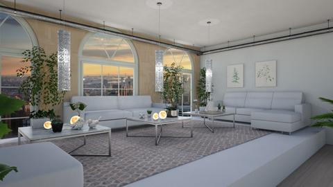 Modern City Close Up 1 - Living room - by LaughingDonut