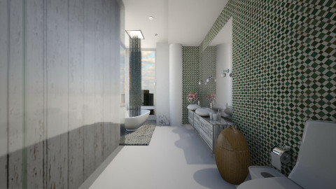 Mint Bath - Modern - Bathroom - by wagner herbst padilha