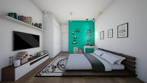 bed - Bedroom - by Dijana93