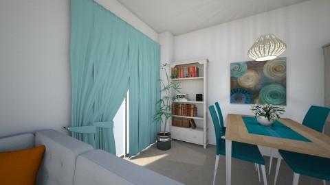 theadora living room 2 - Eclectic - Living room - by amaumau