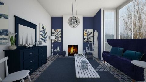Slender - Eclectic - Living room - by camilla_saurus
