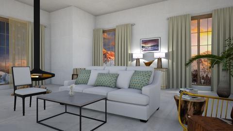 Modern Livivng room - Modern - Living room - by camila1234567