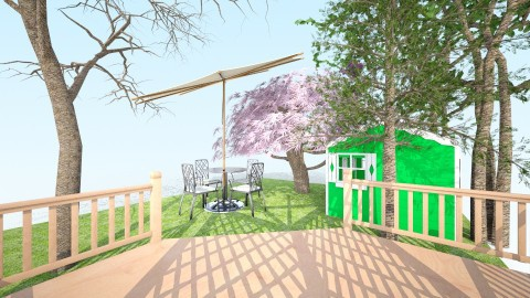 Beautiful backyard - Vintage - Garden - by Ella_4_dayz