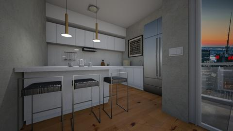 kitchen1 - Modern - Kitchen - by raissasevero