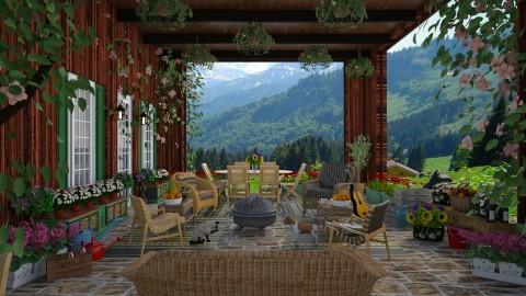 Alpine Patio - Garden - by lydiaenderlebell