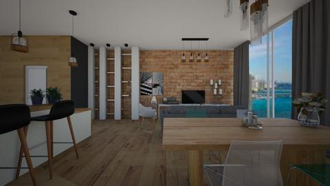 Dining room - Minimal - Dining room - by Zosia Zakrzowska