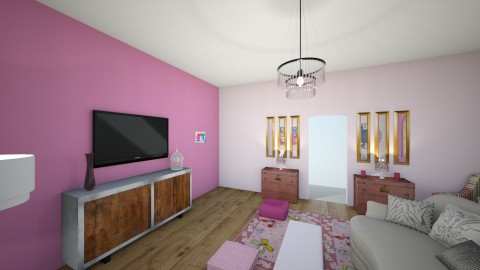 taylor room  - Vintage - Living room - by howlin