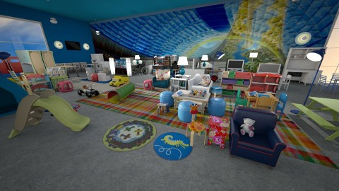 activity room - Eclectic - Kids room - by anchajaya