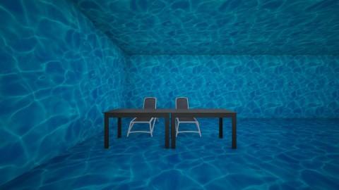 Under water table - by Cerise Hendrickson