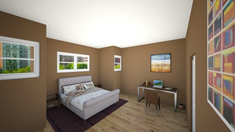 Apartment 2 - Bedroom - by BennLK32