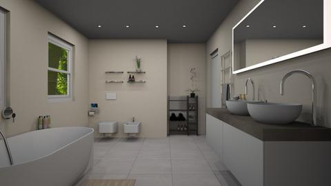 Toilet - Bathroom - by Carolina Soriani