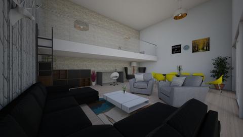 Family modern room - Modern - Living room - by Zosia Zakrzowska