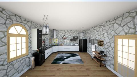 kitchen - Modern - Kitchen - by Stavroula Chatzina