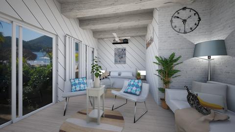 Beach Bedroom - Bedroom - by Sugarfishfish
