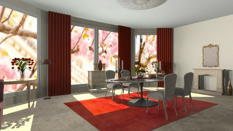 anadining - Dining room - by silvanasilvana