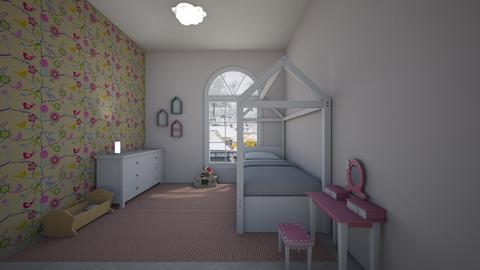 Girly room - Feminine - Kids room - by Twerka